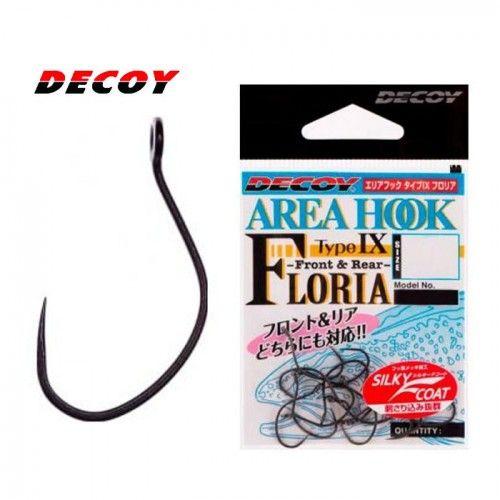 4 Крючки Decoy AH-IX Floria №6