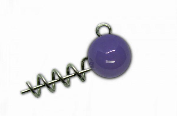 Груз-штопор Instinkt крашеный (фиолетовый) 5g (3шт.)
